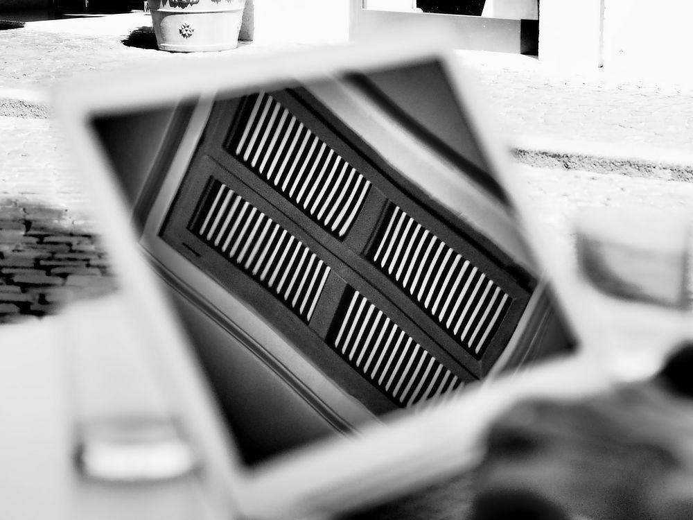 Fensterladen im McBook