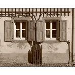 Fensterpaar (Lebensabschnittspartner oder Wertegemeinschaft auf Lebenszeit)