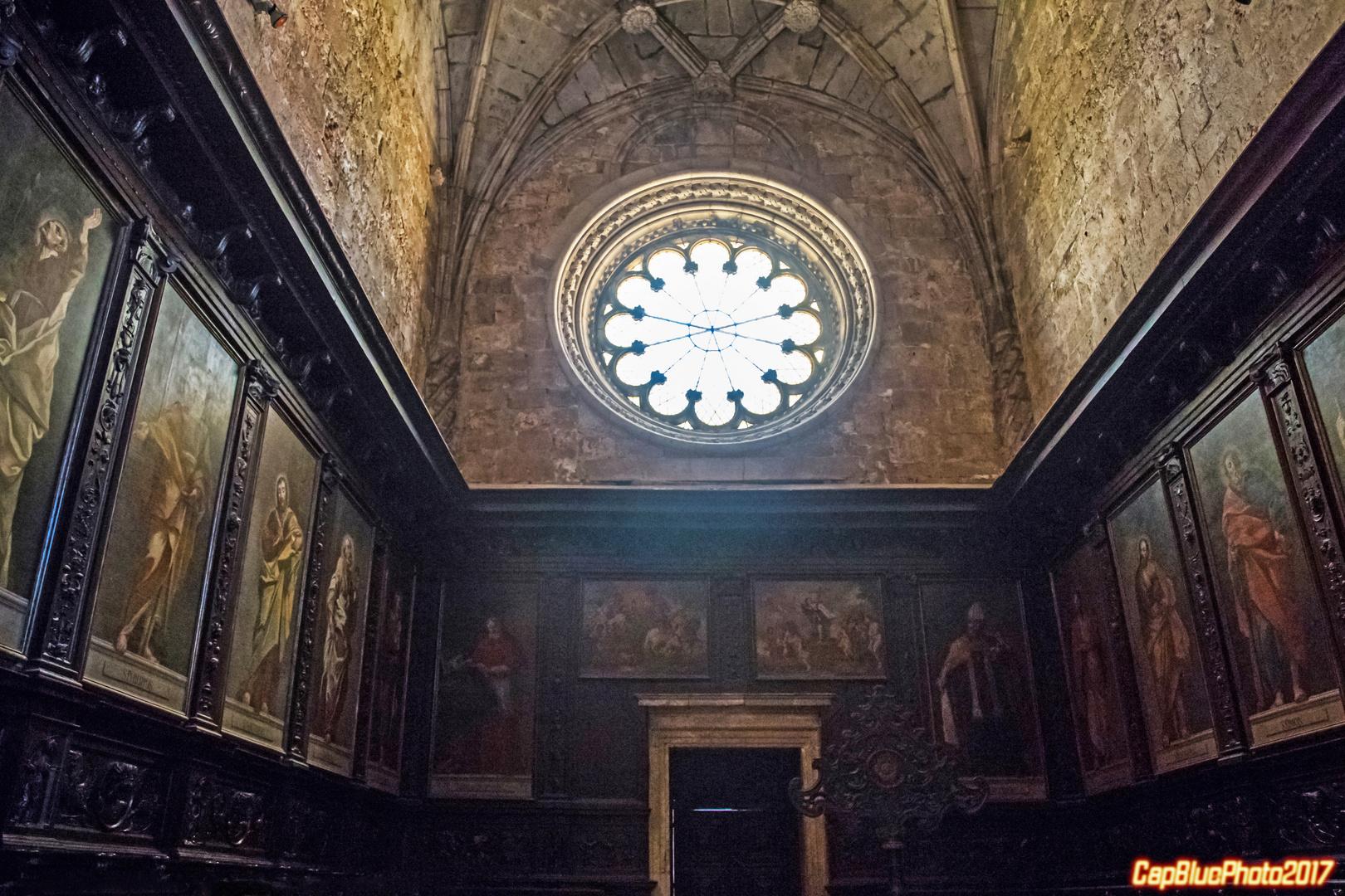 Fensterrose im hohen Chor des Mosteiro dos Jeronimos