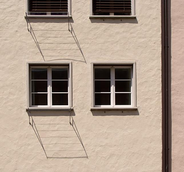 Fensterschatten-Schattenfenster