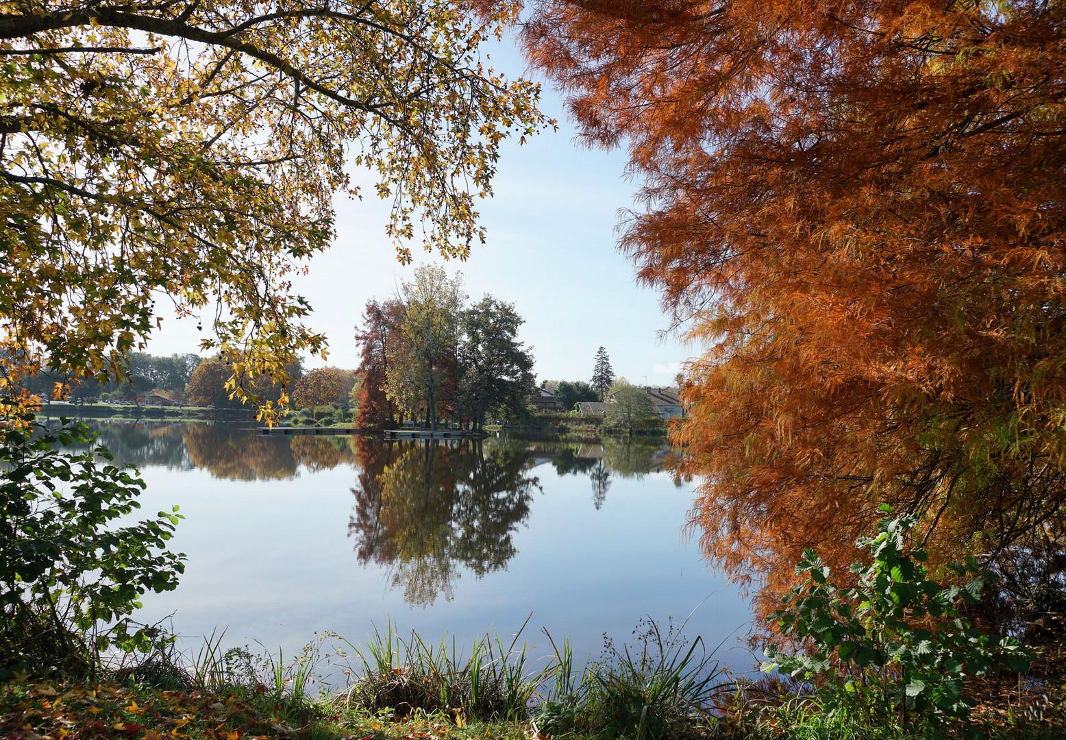 Fenêtre ouverte sur le lac ....