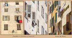 Fenêtres et façades d'Ajaccio