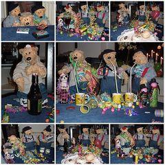 Ferdi, Ole und Anton feiern Silvester