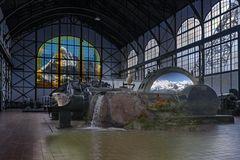 Ferientraum in der Industriehalle