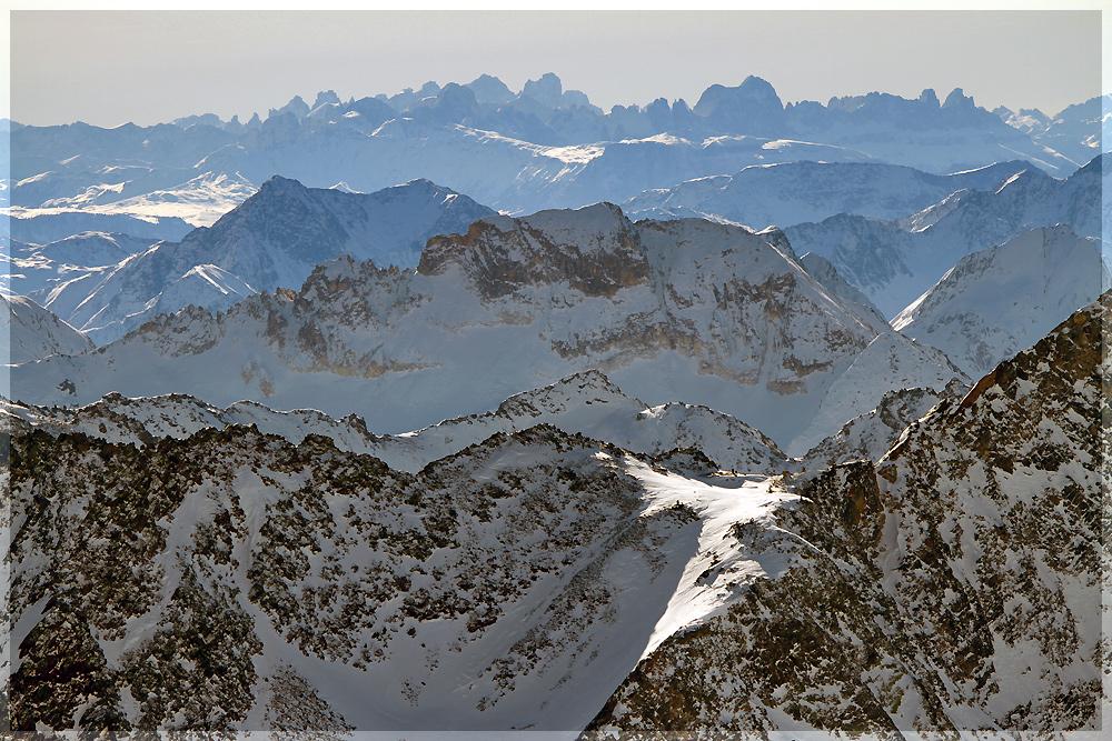 Ferne Dolomiten