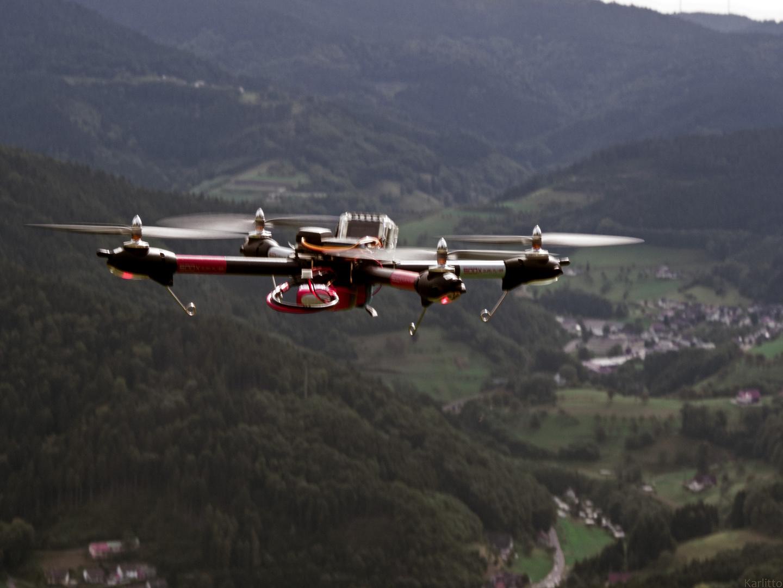 Ferngesteuerter Luftangriff ;-)