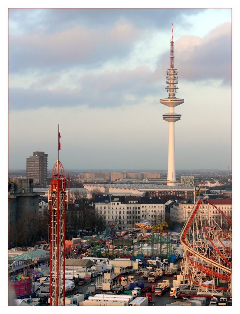 Fernsehturm (Heinrich-Hertz-Turm) Hamburg