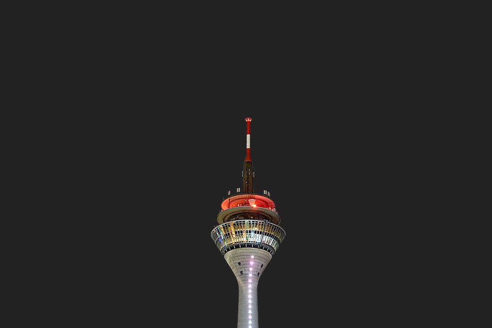 Fernsehturm ? in Düsseldorf