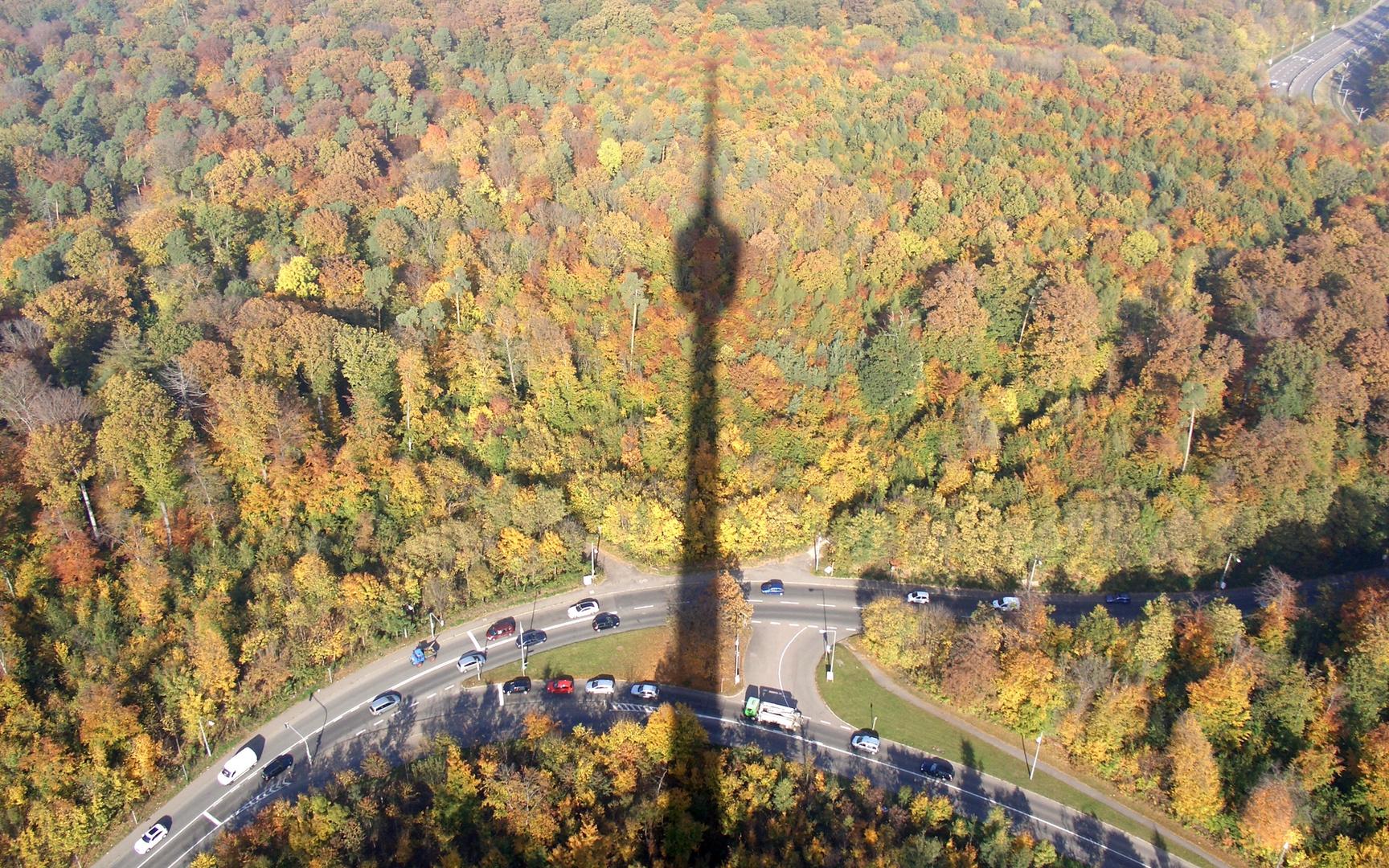 Image result for Fernsehturm in Stuttgart in autumn
