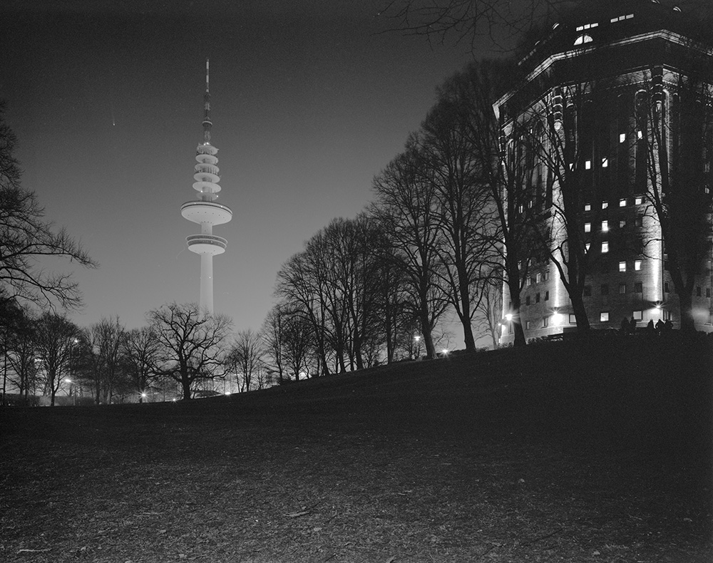 Fernsehturm und Mövenpick-Hotel