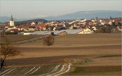 Fernsicht vom Haßgau in die bayrische Hochrhön