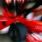 Ferrari auf dynamische Art