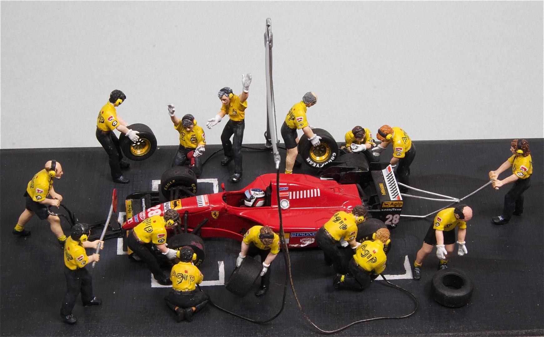 Ferrari beim Boxenstopp