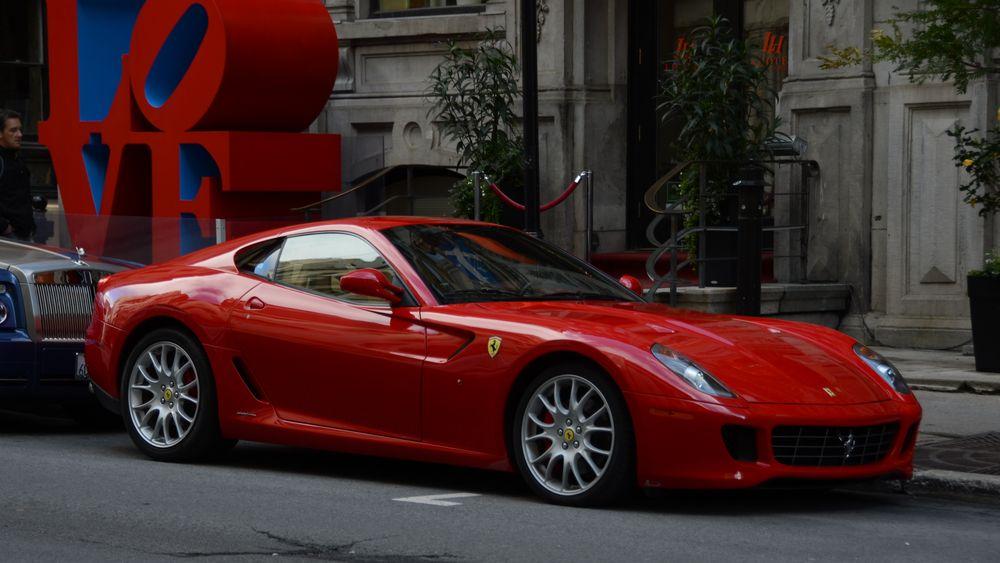 Ferrari in Montreal