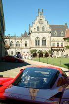 Ferraris zu Gast in der Burg Bentheim