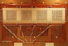 Ferritkernspeicher eines Zuse Rechners