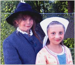 Fesche Kinder aus Neugablonzer Volksfest