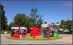 Festa del 25 Aprile al giardino di Loures city.