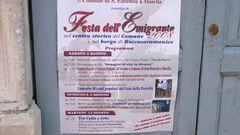 Festa dell´Emigrante nel centro storico del Comune e nel borgo di Roccacaramanico