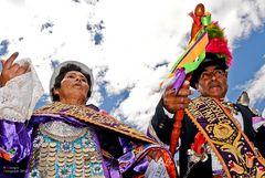 Festa religiosa - Tarma, Ande peruviane