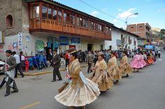 Festival in der Region Cusco (1)