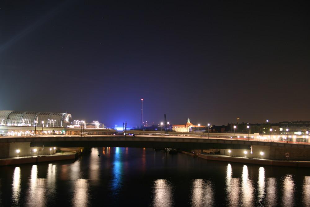 Festival of Lights '08 - Spreeufer / Hauptbahnhof
