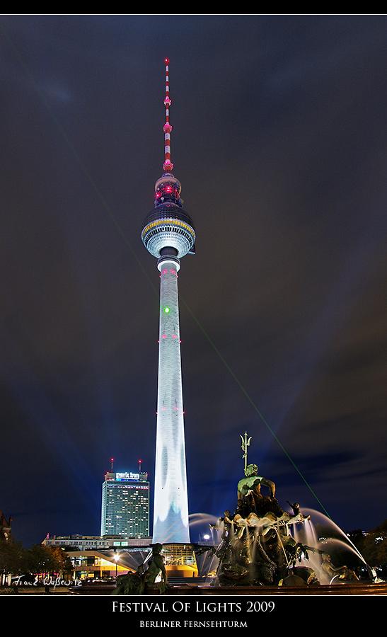 Festival Of Lights 2009 - Berliner Fernsehturm