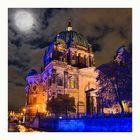 Festival of Lights 2010 - Berliner Dom im Mondlicht