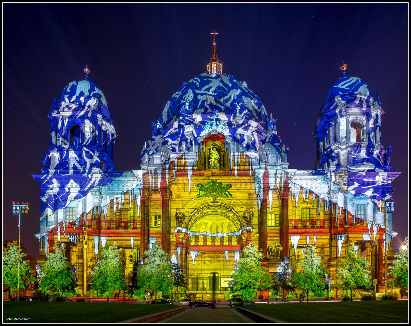 Festival of Lights 2012 Berliner Dom