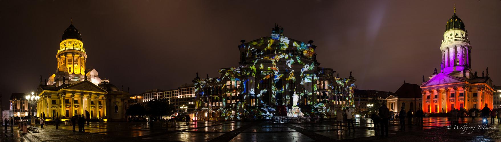 Festival of Lights 2012 - Gendarmenmarkt Berlin