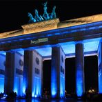 Festival Of Lights Berlin 2010 - Das Brandenburger Tor (deep blue ...)