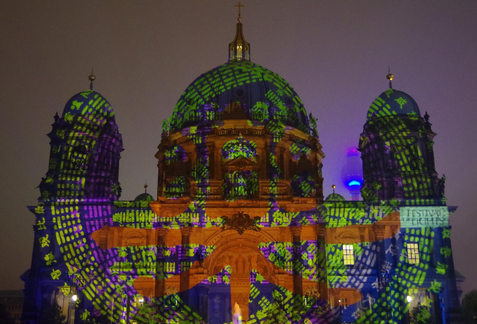 Festival of Lights - Berlin 2014 - Berliner Dom 2