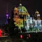 Festival of Lights Berlin Dom, Guardians of Time, Wächter der Zeit Manfred Kielnhofer
