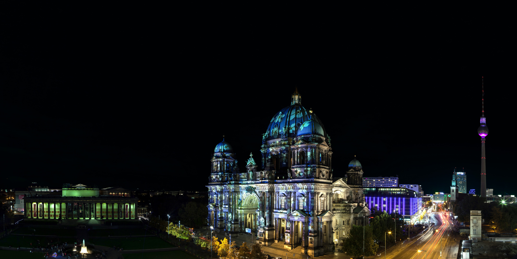 Festival of Lights/ Berliner Dom