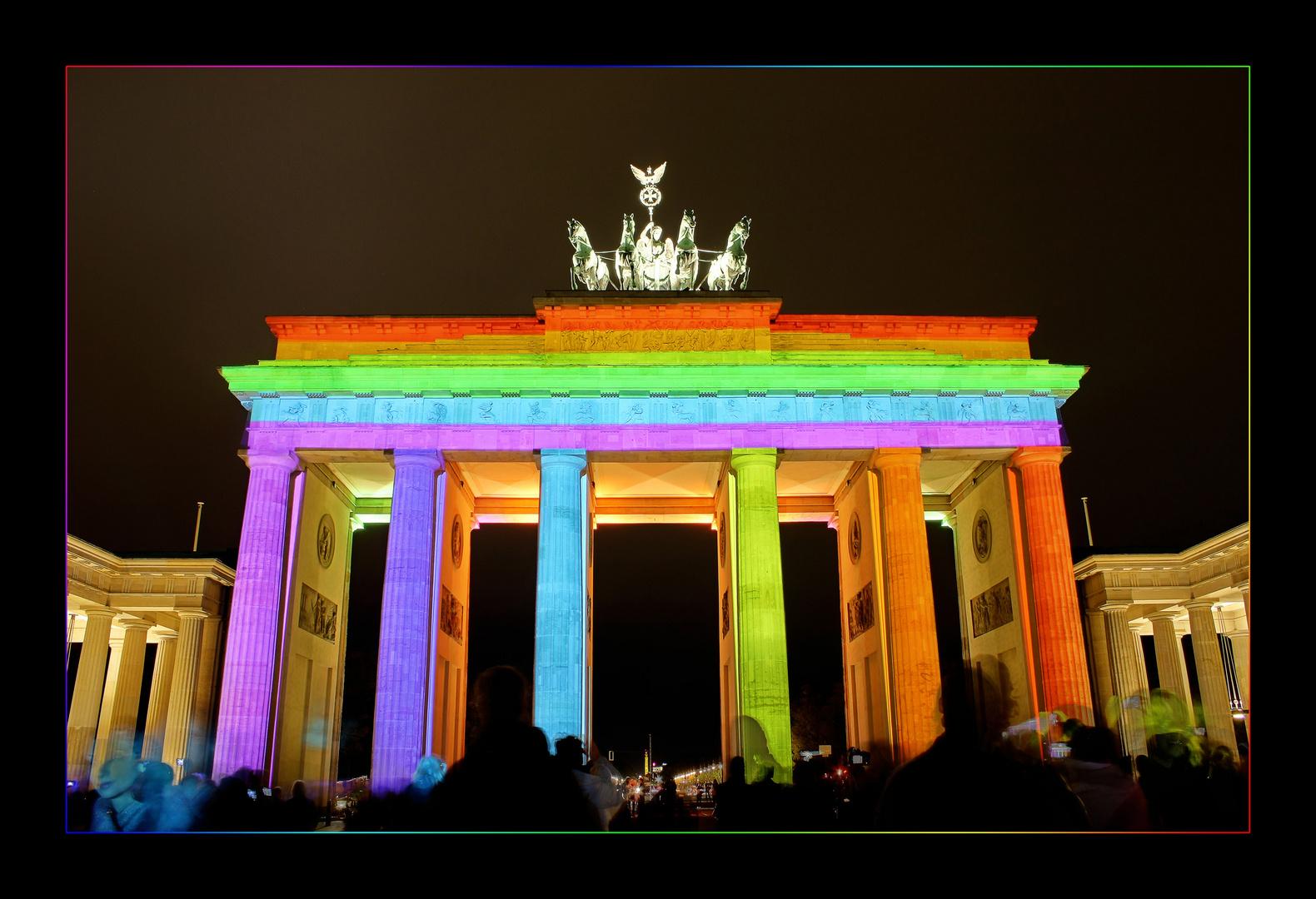 Festival of Lights • Brandenburger Tor