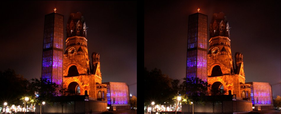Festival of lights - Kaiser-Wilhelm-Gedächtniskirche
