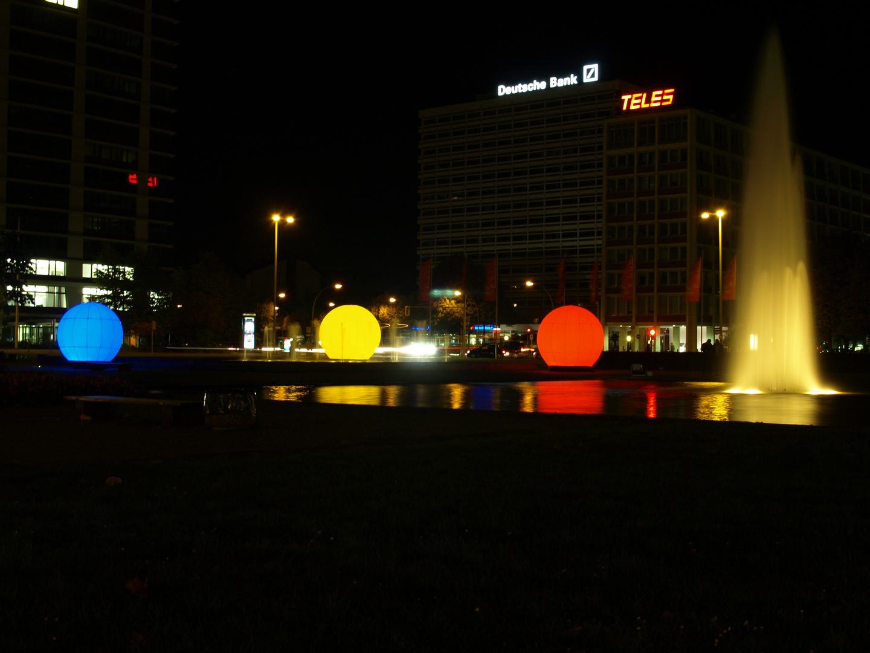 Festival of lights2011(Ernst-Reuter-Platz)