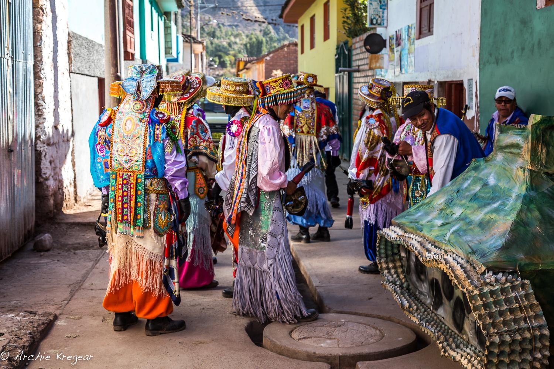 Festival of the Virgin in Huayllabamba #27