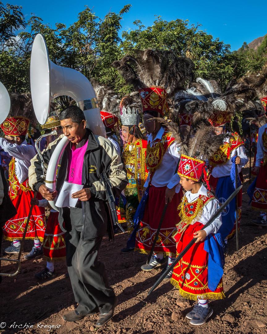 Festival of the Virgin in Huayllabamba #4