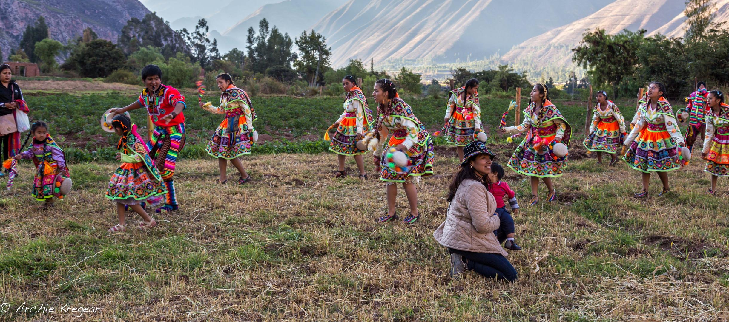 Festival of the Virgin in Huayllabamba #6