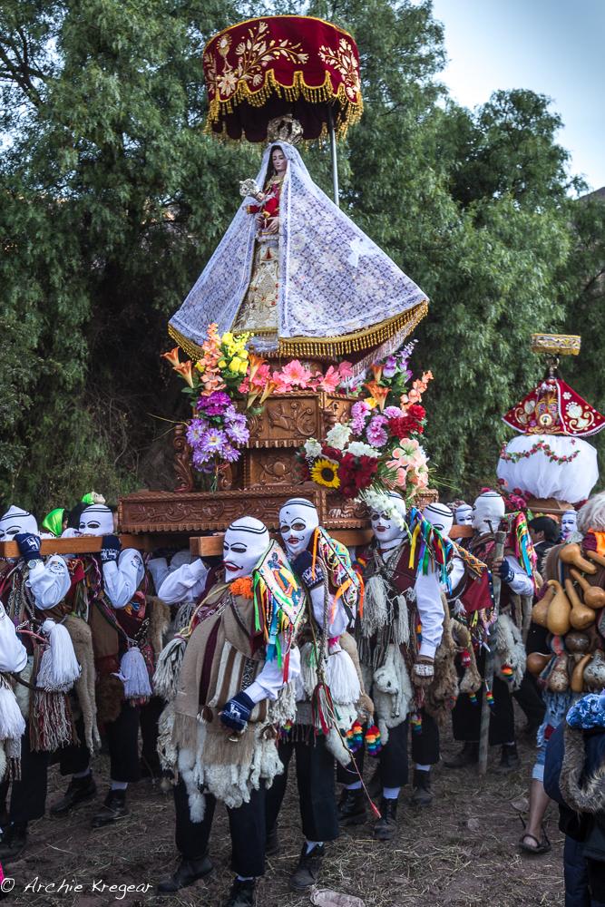 Festival of the Virgin in Huayllabamba #8