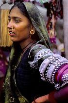 Festlich geschmückt in Pushkar