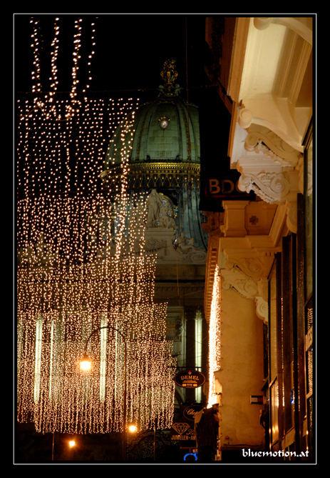 ...festliche Beleuchtung am Kohlmarkt