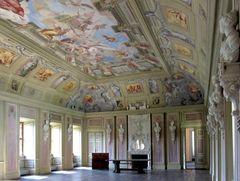Festsaal des Schlosses Tenneberg