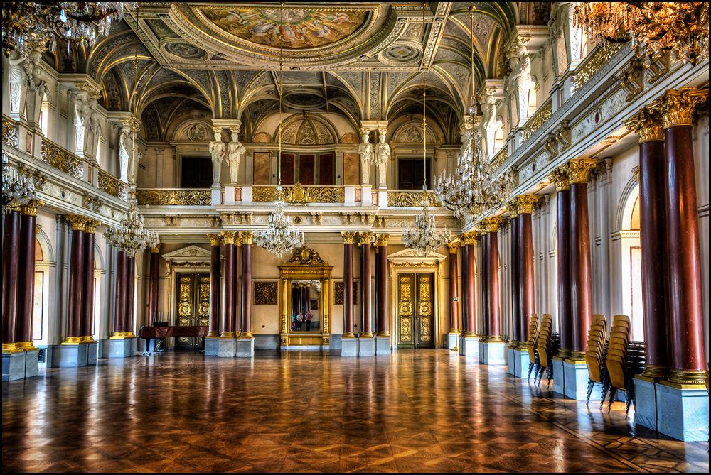 Festsaal im Schloss Altenburg