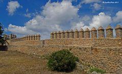 Festung Arta Mauer mit Zinnen
