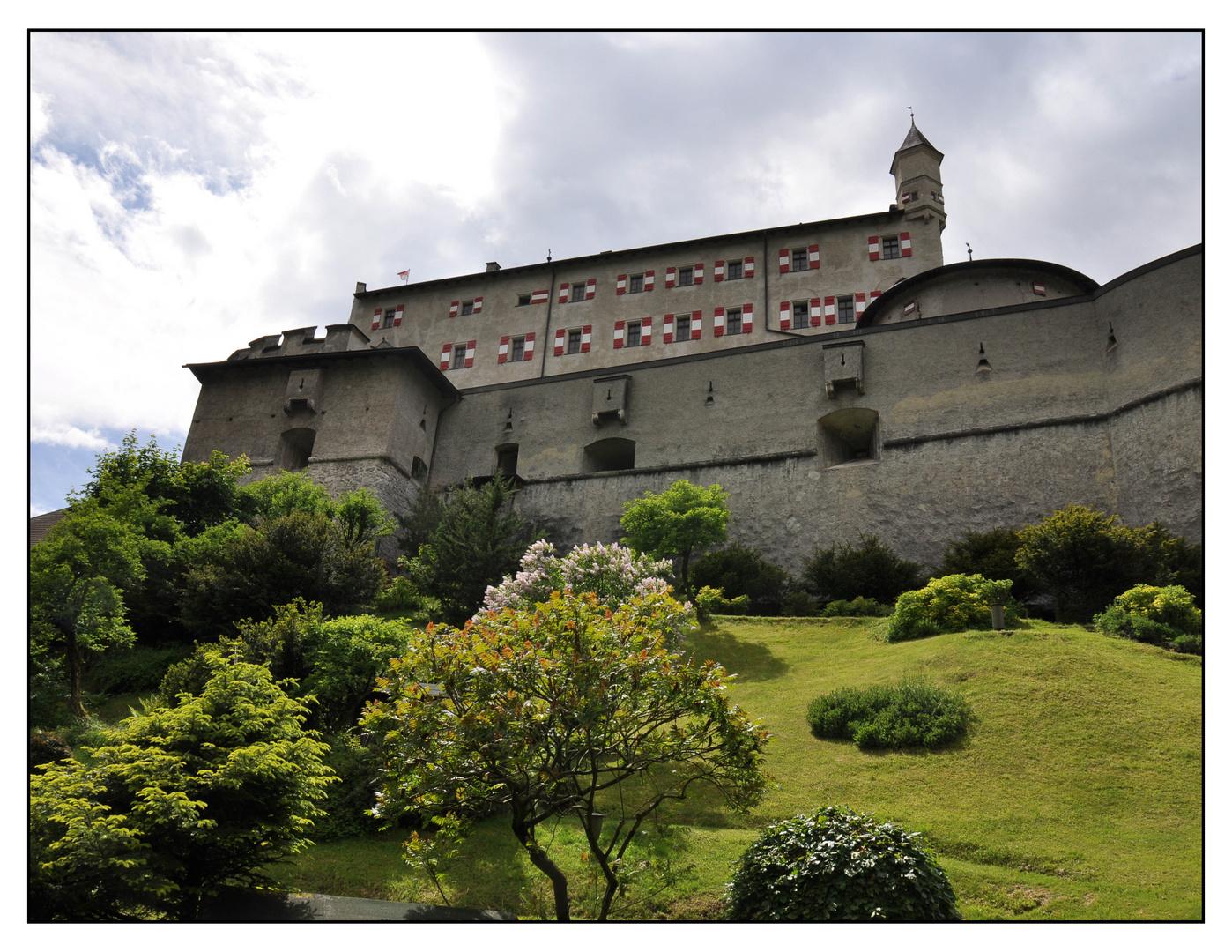 Festung Hohenwerfen in Österreich