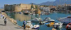 Festung im Hafen von Kyrenia