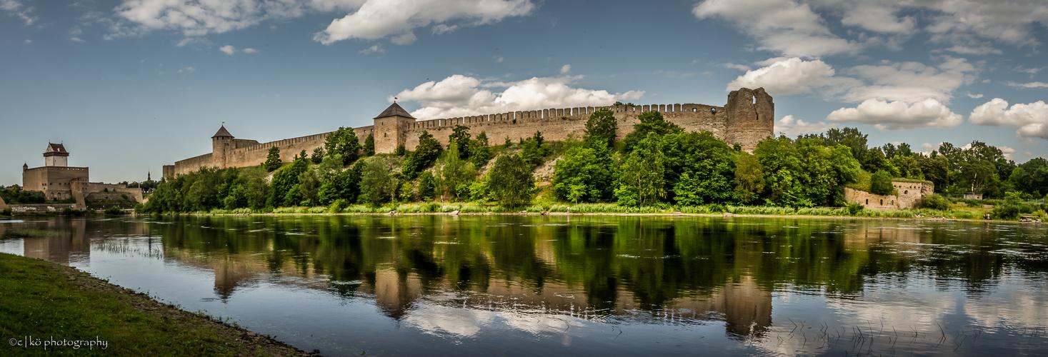 Festung Iwangorod an der Narva