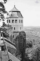 Festung Königstein, s/w